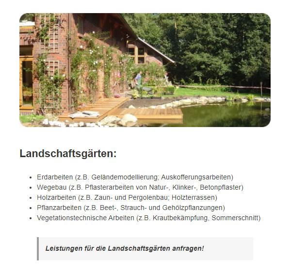 Pflanzarbeiten für 27404 Ostereistedt